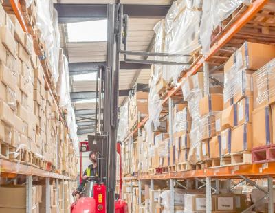 VNA technology ensures high pallet capacity for Daygard Logistics