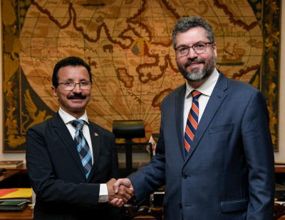 DP World chairman meets with Brazilian Minister of Foreign Affairs