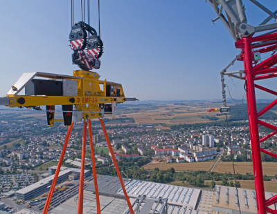 Ematec develops a universal traverse system for heavy loads