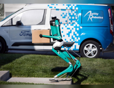 Ford and Agility developing humanoid robot for last mile delivery
