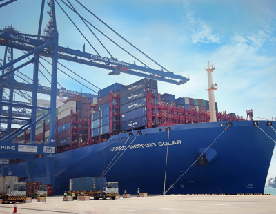 COSCO Shipping strengthen the mutual cooperation with MacGregor