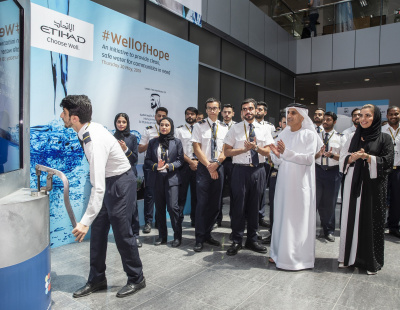 Etihad funds construction of water wells in Africa