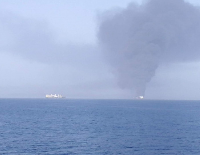 Explosions reported in Gulf of Oman, UK maritime group advises extreme caution