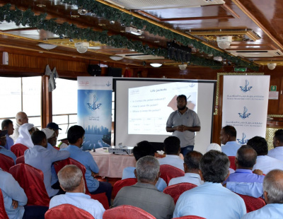 Dubai Maritime City Authority's concludes 'Safety campaign for Abra Drivers'