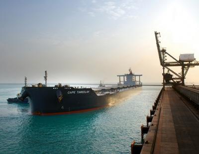 EGA and Abu Dhabi Ports welcome largest bulk carrier ever at Khalifa Port