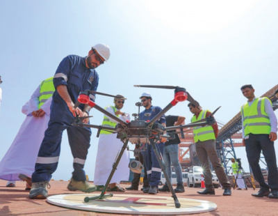 Drones to help Sohar port in infrastructure analysis