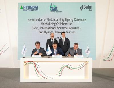 Bahri signs major ship deal with new Saudi shipyard IMI