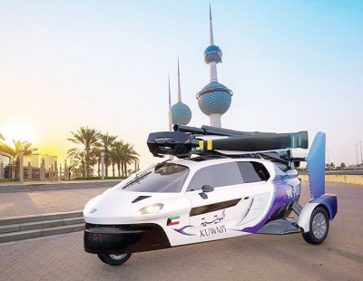 Kuwait Airways signs deal for flying cars