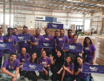 FedEx Express MENA and India employees volunteer 11,000 hours for CSR
