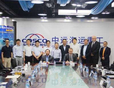 Wärtsilä and COSCO grow exhaust gas cleaning in China