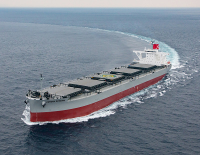 K Line takes delivery of 'Corona' Series Coal Carrier Corona Dynamic