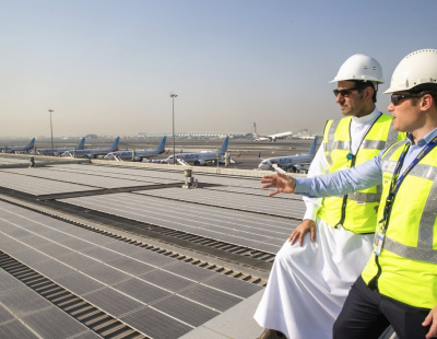 DXB completes installation of the region's largest solar energy system at Terminal 2