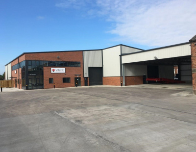 Britcon hands over new warehouse for Viking Shipping Services