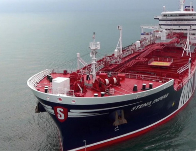 UK oil tanker Stena Impero anchors off UAE following release by Iran