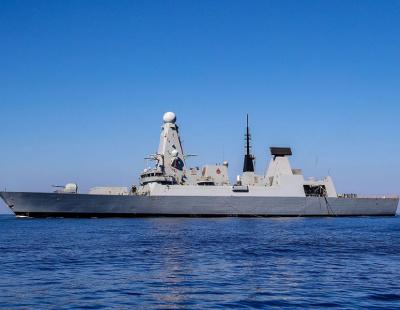HMS Duncan arrives in Gulf as British navy begins escorts in Strait of Hormuz