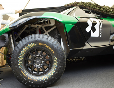 Extreme E electric SUV premieres with Continental tyres