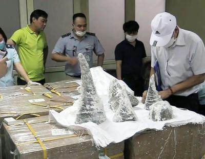 Vietnamese authorities seize illegal rhino horns from Abu Dhabi flight
