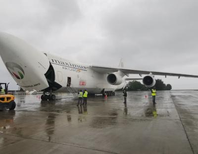 Chapman Freeborn and Maximus Air deliver MRI machine from Dubai to Maldives