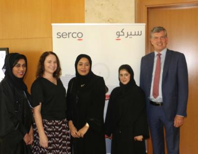 Dubai Metro operator Serco highlights female Emirati staff