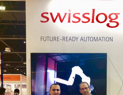 Swisslog delivers robot-based warehouse system for Axiom Telecom