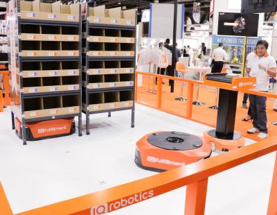 Fully robotic MHE operator IQ Robotics announces launch at Materials Handling ME