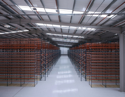 BS Handling Systems completes large racking project for new ASOS storage facility