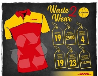 DHL Express introduces recycled eco-uniforms for the GCC