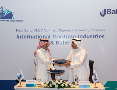 Bahri signs VLCC order with IMI to promote indigenous shipbuilding in Saudi