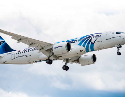 EGYPTAIR takes delivery of first of 12 A220-300 aircraft