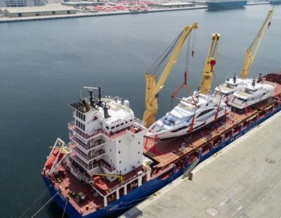 How UAE yacht builder Gulf Craft ships its mega yachts around the world