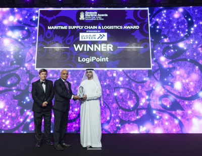 LogiPoint wins Seatrade Maritime Supply Chain & Logistics Award 2019