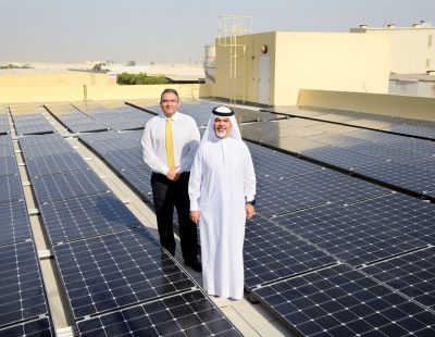 Emirates Flight Catering makes major investment in solar energy