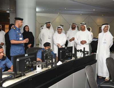 Dubai Customs Director General inspects CDM and Control Room