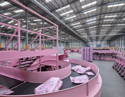 BS Handling Systems completes sortation project for new PrettyLittleThing warehouse