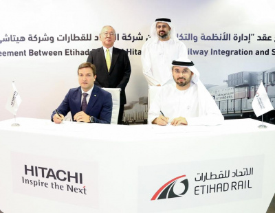 Etihad Rail awards $436m contract to Hitachi Rail STS