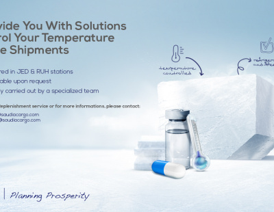 Saudia Cargo launches Dry Ice Replenishment service for cold chain cargo
