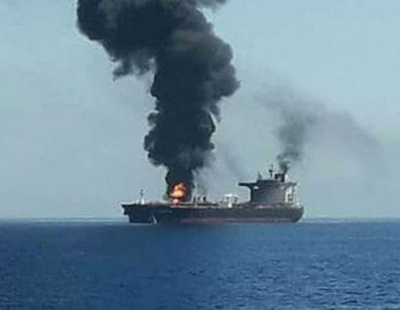Environmental disaster averted after Iranian tanker hit by two missiles in Red Sea