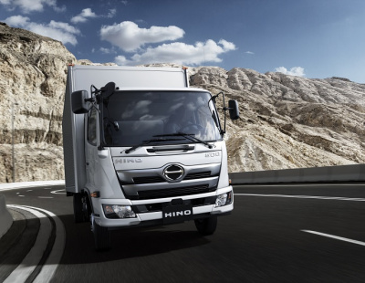 Hino brings FD model of Hino 500 Series medium truck range to the Middle East