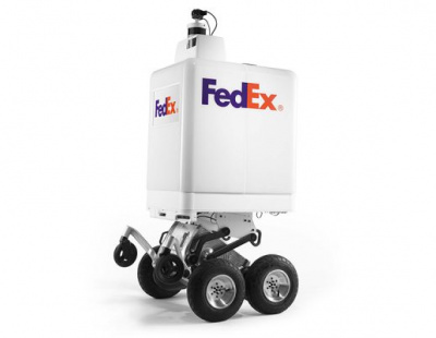 FedEx Express launches autonomous last mile delivery device Roxo in Dubai