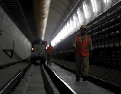 Saudi Arabia's temporary Haramain rail track nears completion
