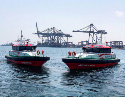 SOHAR Port & Freezone takes delivery of two new pilot boats from Svitzer