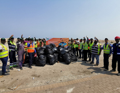 APM Terminals Bahrain gets staff out for major clean-up