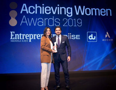 Soumia Benturquia, founder of last mile disruptor FODEL wins 'Achieving Woman' award
