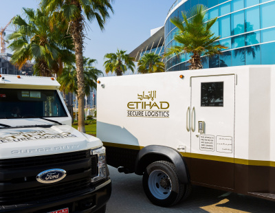 Etihad Airways subsidiary Etihad Secure Logistics expands vehicle fleet