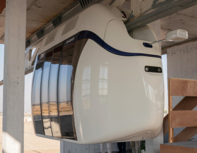 Hanging railway system being developed in Sharjah