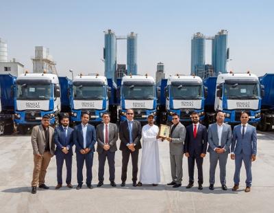 UAE concrete supplier expands fleet with Renault Trucks K models