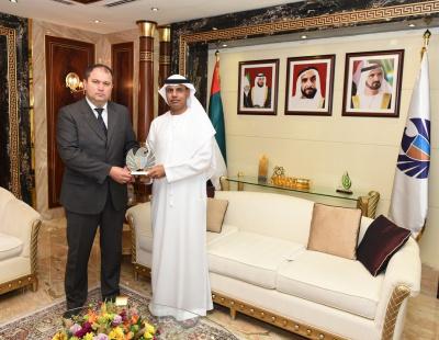 Dubai Customs discusses closer ties with Ukrainian Consul General