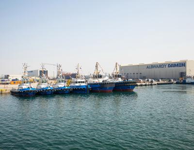 Damen holds handover ceremony for 13-tug order in GCC