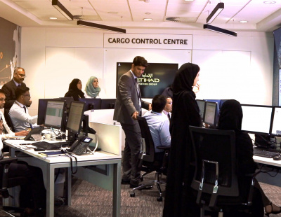 Etihad launches Cargo Control Centre (CCC) at its head office in Abu Dhabi