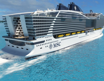 Second-largest class of cruise ship to be used as floating hotel for FIFA 2022
